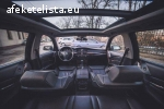 E61 (touring) Sportkomfort fekete bőrbelső