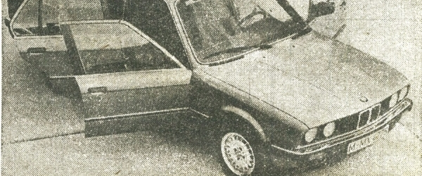 Anno: Bmw E30 323i Technika 1985/8